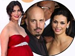 It's a boy! Morena Baccarin, pictured at the Emmy Awards in September, gave birth to a son on Tuesday