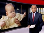 The BBC was criticised for its coverage of the Royal christening in which two minutes and 20 seconds was devoted to the event