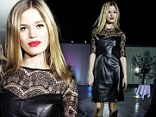 Come fly with me! Georgia May Jagger wears lace and leather to BA event in Hong Kong