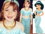 Lindsay Lohan looks sweet and innocent as Princess Jasmine in childhood snap