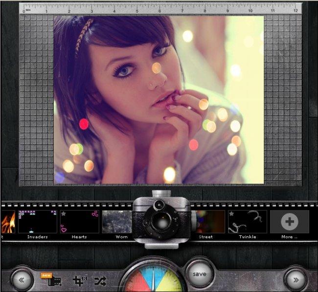 Онлайн редактор фотографий - онлайн сервис Pixlr-o-matic