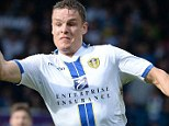 In form: Matt Smith scored twice in Leeds' 4-0 win against Birmingham