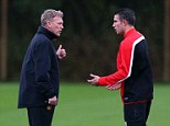 Rooney and Van Persie