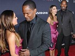 Jamie Foxx gets hands-on with fellow director Eva Longoria at Project Imaginat10n Film Festival
