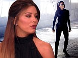 'I almost killed myself!': Eva Longoria reveals she suffered while doing her own stunts to play a sexy assassin in new short film