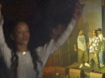Rihanna can't contain her excitement as she enjoys intimate Snoop Dogg gig during rare night off