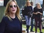 Melanie Griffith and Stella Banderas go shopping in West Hollywood