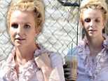 Britney Spears grabs a caffeine fix as punishing schedule of dance rehearsals and album recording takes its toll
