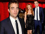 You're not from Down Under! Robert Pattinson crashes an Australian actors' party with Isla Fisher