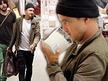 What would Jessie say? Domesticated Breaking Bad star Aaron Paul shops for candles on day off from filming new movie