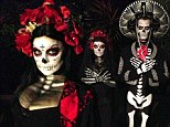 'Until death': Fergie and Josh Duhamel express their eternal love for one another in coordinated Day Of The Dead-inspired Halloween costumes