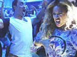 Bring it on! Beyoncé joins in fearsome Haka tribute performed backstage by New Zealand concert crew