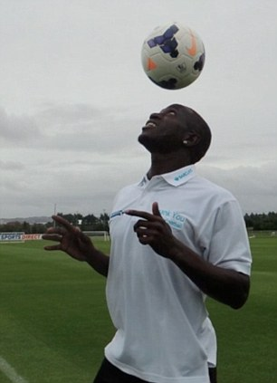 Heads up: Sissoko shows off his skills