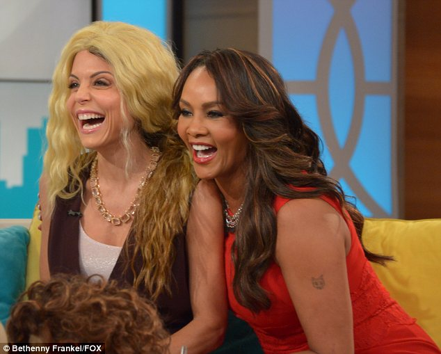 Not exactly a roaring success: Bethenny and Vivica couldn't help but laugh at the results