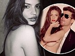 'I want to be a brand!' Blurred Lines model Emily Ratajkowski continues winning streak as she takes home Esquire's Woman Of The Year title