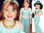 Lindsay Lohan looks sweet and innocent as Princess Jasmine in childhood snap