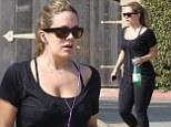 Hike time: CaCee Cobb was spotted at Runyon Canyon in Los Angeles on Friday