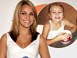Isn't she growing fast! Jamie Lynn Spears tweets she's 'blessed' as she enjoys ice cream with daughter Maddie