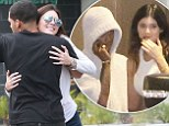 Look away now Bruce! Kendall and Kylie Jenner hit the mall with scruffy looking love interests Young Jinsu and Lil Twist
