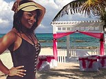 Has Kandi Burruss eloped? RHOA star sparks rumours that she's tied the knot with Todd Tucker in Mexico as she shares pictures of a 'beach side wedding'