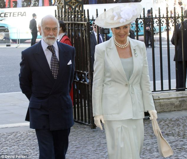 Royal ties: The Princess married the Queen¿s cousin Prince Michael of Kent in 1978