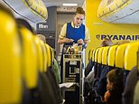 Making changes: Ryanair is introducing 'quiet flights' when the lights will be dimmed and announcements reduced