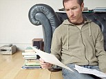 Worried: The reader had paid off the whole debt - but was still being told he had £500 to pay