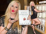 Jenna Jameson 'cancels remaining TV interviews' promoting her new book after string of slurred interviews causes 'negative attention'