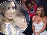'It was an out-of-body experience!' Kim Kardashian gushes that Kanye West's proposal was a complete surprise... and the wedding will be 'whatever he wants'