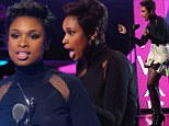 A cut above the rest! Jennifer Hudson reveals her new pixie crop hairstyle at BET awards bash