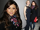 Nina Dobrev proves you don't have to flash the flesh to ensure all eyes are on you as she wraps up for stunning appearance at Savannah Film Festival