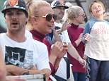Britney Spears and Kevin Federline reunite for son's soccer match