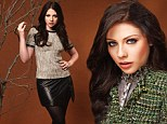 'Mysterious chameleon!' Michelle Trachtenberg unveils her sultry side in an array of stylish outfits for fashion magazine