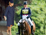 Zara Phillips, pregnant with her first child with rugby player and husband Mike Tindall