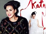 Katy Perry models for the December issue of Glamour magazine