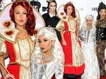 Where's Alice? Snooki and JWoww wear elaborate Wonderland costumes at the Night Of The Living Drag Halloween party