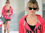 Who wears short shorts? Taylor Swift shows off her pins in leg-baring bottoms during a trip to the gym