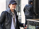 Is this the happiest they've been? Smiling Orlando Bloom visits Miranda Kerr for the THIRD day in a row after split