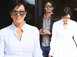 So it's on then? Cougar Kris Jenner steps out with Bachelor star Ben Flajnik as the pair shop up a storm in New York City