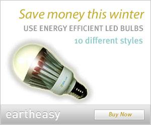 Buy energy efficient LED bulbs at Eartheasy.com