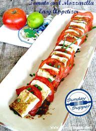 Tomato and Mozzarell