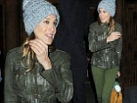 Sarah Jessica Parker rocks two shades of green at preview for her new play The Commons of Pensacola