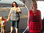 Morbidly obese mother-of-three loses eight stone after shock of seeing her brother killed by heart attack