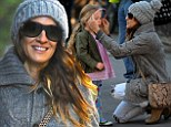 Crisis averted! Sarah Jessica Parker springs into action as daughter Marion suffers wardrobe drama on morning school run