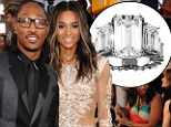 What a rock! First look at Ciara's 15-carat diamond engagement ring after rapper Future surprised her with birthday proposal
