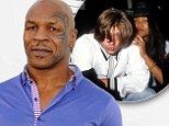 A 'stoned' Brad Pitt is revealed to have begged Mike Tyson not to 'strike' him after he was caught dating the boxer's estranged wife Robin Givens