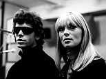 May, 1966 --- Lou Reed and Nico at Scepter Studios during the recording of the first Velvet Underground album