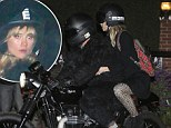 Mr. Cooper's wild ride! Bradley wears gorilla suit on motorcycle with a spotted Suki Waterhouse in tow