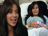 'The first thing I did was look at my vagina in the mirror, and it looks better than before': Kim Kardashian's VERY candid admission about her body after baby