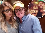 So the split IS amicable! Bruce Jenner's family, including estranged wife Kris, gather for dinner to celebrate his 64th birthday